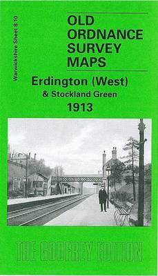 Erdington (West) and Stockland Green 1913: Warwiockshire Sheet 8.10 - Old O.S. Maps of Warwickshire (Sheet map, folded)
