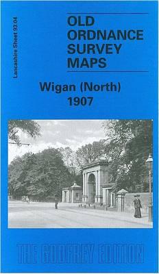 Wigan (North) 1907: Lancashire Sheet 93.04 - Old O.S. Maps of Lancashire (Sheet map, folded)