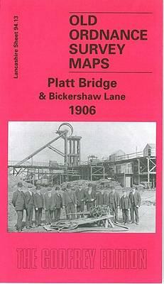 Platt Bridge and Bickershaw Lane - Old O.S. Maps of Lancashire (Sheet map, folded)