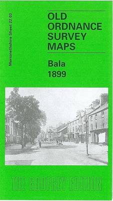 Bala 1899: Merionethshire Sheet 22.03 - Old O.S. Maps of Merionethshire (Sheet map, folded)