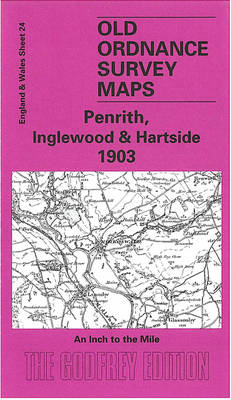 Penrith, Inglewood and Hartside 1903: One Inch Sheet 024 - Old Ordnance Survey Maps - Inch to the Mile (Sheet map, folded)