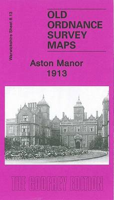 Aston Manor 1913: Warwickshire Sheet 8.13 - Old O.S. Maps of Warwickshire (Sheet map, folded)