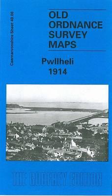 Pwllheli 1914: Caernarvonshire Sheet 40.08 - Old O.S. Maps of Caernarvonshire (Sheet map, folded)
