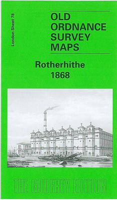 Rotherhithe 1867: London Sheet 078.1 - Old Ordnance Survey Maps of London (Sheet map, folded)
