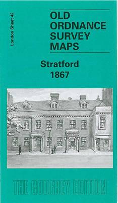 Stratford 1867: London Sheet 042.1 - Old Ordnance Survey Maps of London (Sheet map, folded)