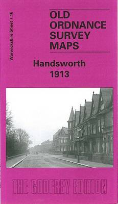 Handsworth 1913: Warwickshire Sheet 7.16 - Old O.S. Maps of Warwickshire (Sheet map, folded)