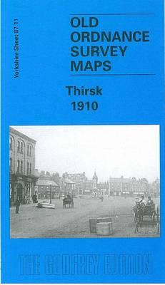 Thirsk 1910: Yorkshire Sheet 87.11 - Old O.S. Maps of Yorkshire (Sheet map, folded)