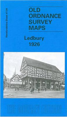 Ledbury 1926: Herefordshire Sheet 41.04 - Old O.S. Maps of Herefordshire (Sheet map, folded)