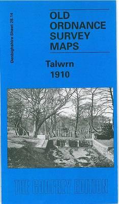 Talwrn 1910: Denbighshire Sheet 28.14 - Old O.S. Maps of Denbighshire (Sheet map, folded)