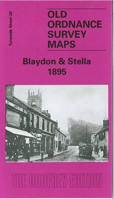 Blaydon and Stella 1895: Tyneside Sheet 28 - Old Ordnance Survey Maps of Tyneside (Sheet map, folded)