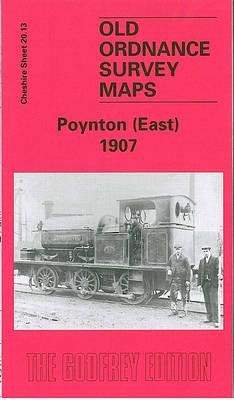 Poynton (East) 1907: Cheshire Sheet 20.13 - Old O.S. Maps of Cheshire (Sheet map, folded)