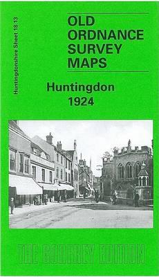 Huntingdon 1924: Huntingdonshire Sheet 18.13 - Old O.S. Maps of Huntingdonshire (Sheet map, folded)