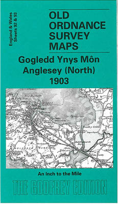Anglesey (North) 1903: One Inch Sheet 092 - Old Ordnance Survey Maps - Inch to the Mile (Sheet map, folded)
