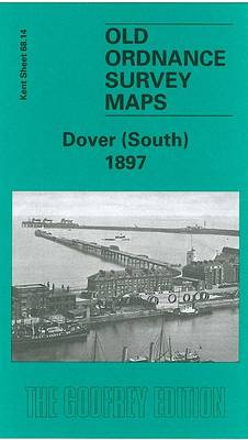 Dover (South) 1897: Kent Sheet 68.14 - Old Ordnance Survey Maps of Kent (Sheet map)