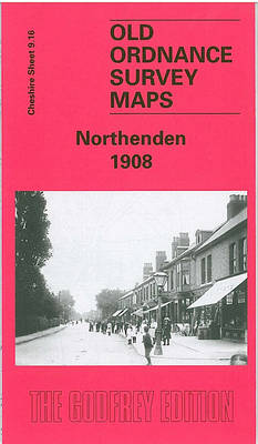 Northenden 1908: Cheshire Sheet 9.16 - Old O.S. Maps of Cheshire (Sheet map, folded)