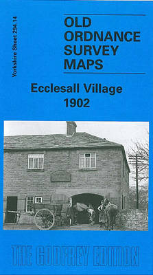 Ecclesall Village 1902: Yorkshire Sheet 294.14 - Old Ordnance Survey Maps of Yorkshire (Sheet map)