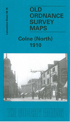 Colne (North) 1910: Lancashire Sheet 48.16 - Old Ordnance Survey Maps of Lancashire (Sheet map)