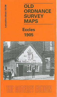 Eccles 1905: Lancashire Sheet 103.08 - Old Ordnance Survey Maps (Sheet map, folded)