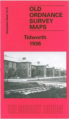 Tidworth 1936: Hampshire Sheet 14.15 - Old Ordnance Survey Maps of Hampshire (Sheet map, folded)