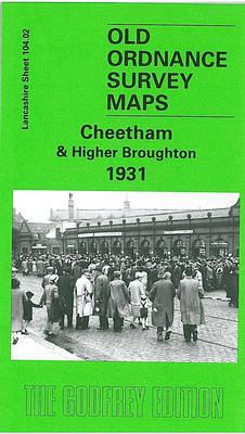 Cheetham and Higher Broughton 1931: Lancashire Sheet 104.02 - Old O.S. Maps of Lancashire (Sheet map, folded)