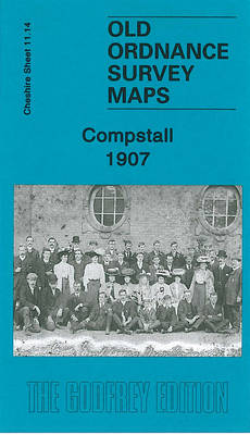 Compstall 1907: Cheshire Sheet 11.14 - Old O.S. Maps of Cheshire (Sheet map, folded)