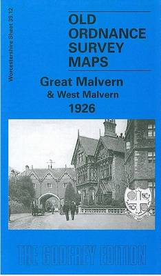 Great Malvern and West Malvern 1926: Worcestershire Sheet 39.12 - Old Ordnance Survey Maps of Worcestershire (Sheet map, folded)