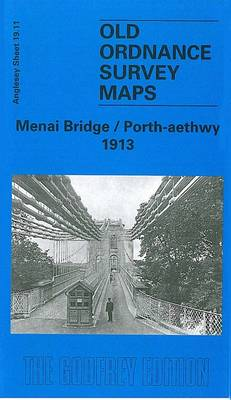 Menai Bridge / Porth-Aethwy 1913: Anglesey Sheet 19.11 - Old O.S. Maps of Anglesey (Sheet map, folded)