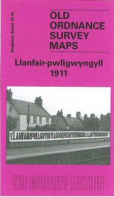 Llanfair - Pwllgwyngyll 1911: Anglesey Sheet 19.10 - Old O.S. Maps of Anglesey (Sheet map, folded)