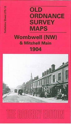 Wombwell (NW) and Mitchell Main 1904: Yorkshire Sheet 275.13 - Old O.S. Maps of Yorkshire (Sheet map, folded)