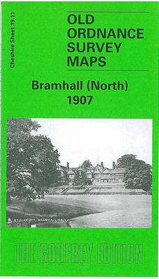 Bramhall (North) 1907: Cheshire Sheet 19.11 - Old O.S. Maps of Cheshire (Sheet map, folded)