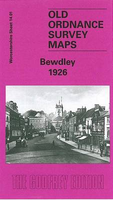 Bewdley 1926: Worcestershire Sheet 14.01 - Old Ordnance Survey Maps of Worcestershire (Sheet map, folded)