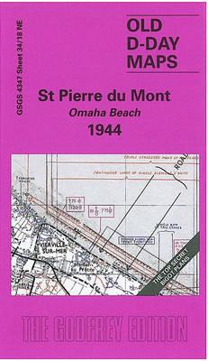 St. Pierre Du Mont (Omaha Beach) 1944: D-Day Sheet 34/18 (Sheet map, folded)