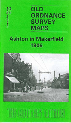 Ashton in Makerfield 1906: Lancashire Sheet 101.07 - Old O.S. Maps of Lancashire (Sheet map, folded)