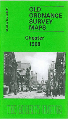 Chester 1908: Cheshire Sheet 38.11b - Old O.S. Maps of Cheshire (Sheet map, folded)