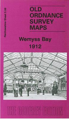 Wemyss Bay 1912: Renfrewshire Sheet 5.06 - Old Ordnance Survey Maps of Renfrewshire (Sheet map, folded)