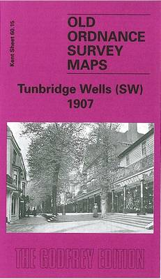 Tunbridge Wells (SW) 1907: Kent Sheet 60.15 - Old O.S. Maps of Kent (Sheet map, folded)