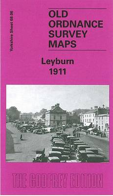 Leyburn 1911: Yorkshire Sheet 68.06 - Old O.S. Maps of Yorkshire (Sheet map, folded)