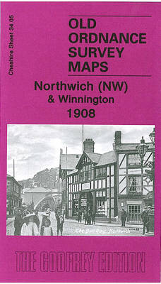Northwich (NW) and Winnington 1908: Cheshire Sheet 34.05 - Old O.S. Maps of Cheshire (Sheet map, folded)