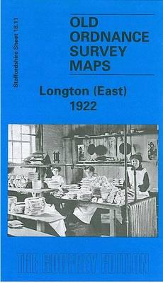 Longton (East) 1922: Staffordshire Sheet 18.11 - Old O.S. Maps of Staffordshire (Sheet map, folded)