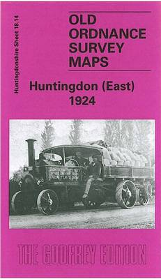 Huntingdon (East) 1924: Huntingdonshire Sheet 18.14 - Old O.S. Maps of Huntingdonshire (Sheet map, folded)