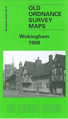 Wokingham 1909: Berkshire Sheet 38.15 - Old O.S. Maps of Berkshire (Sheet map, folded)