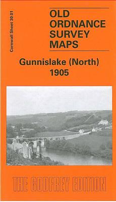 Gunnislake (North) 1905: Cornwall Sheet 30.01 - Old O.S. Maps of Cornwall (Sheet map, folded)