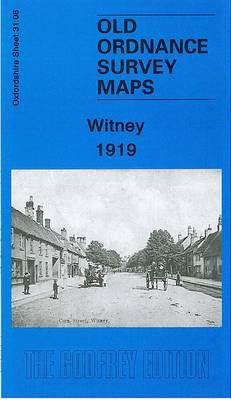 Witney 1919: Oxfordshire Sheet 31.08 - Old Ordnance Survey Maps of Oxfordshire (Sheet map, folded)