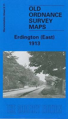 Erdington (East) 1913: Warwickshire Sheet 8.11 - Old O.S. Maps of Warwickshire (Sheet map, folded)