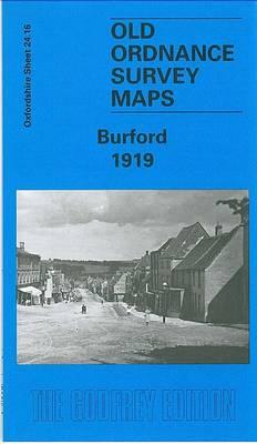 Burford 1919: Oxfordshire Sheet 24.16 - Old Ordnance Survey Maps of Oxfordshire (Sheet map, folded)