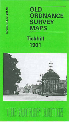 Tickhill 1901: Yorkshire Sheet 291.10 - Old O.S. Maps of Yorkshire (Sheet map, folded)