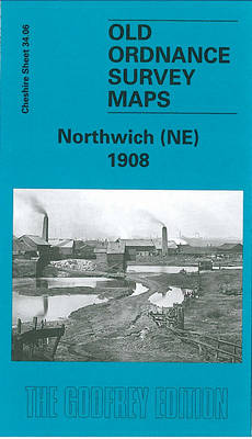Northwich (NE) 1908: Cheshire Sheet 34.06 - Old O.S. Maps of Cheshire (Sheet map, folded)