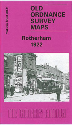 Rotherham 1922: Yorkshire Sheet 289.11b - Old O.S. Maps of Yorkshire (Sheet map, folded)