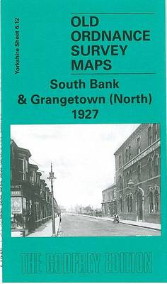 South Bank and Grangetown (North) 1927: Yorkshire Sheet 6.12 - Old O.S. Maps of Yorkshire (Sheet map, folded)