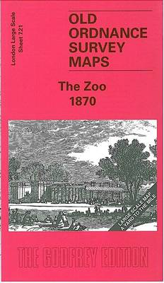 The Zoo 1870: London Large Scale 07.21 - Old Ordnance Survey Maps of London - Yard to the Mile (Sheet map, folded)